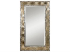 Uttermost Mondego Woven Nickel Mirror - $956.14