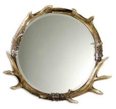 Uttermost Stag Horn Round Mirror - $259.18