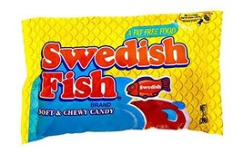 Swedish Fish Fat Free Soft & Chewy Candy, 14 OZ (Pack of 12) - $67.26