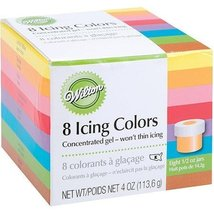 Wilton Set of 8 Icing Colors - $22.72