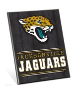 """NFL Jacksonville Jaguars Logo Premium 8"""" x 10"""" Solid Wood Easel Sign - $9.95"""