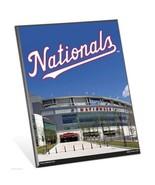 "MLB Washington Nationals Stadium Premium 8"" x 10"" Solid Wood Easel Sign - $9.95"