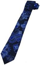 Men's Ralph Lauren Necktie Navy Royal Blue Paisley - $149.00