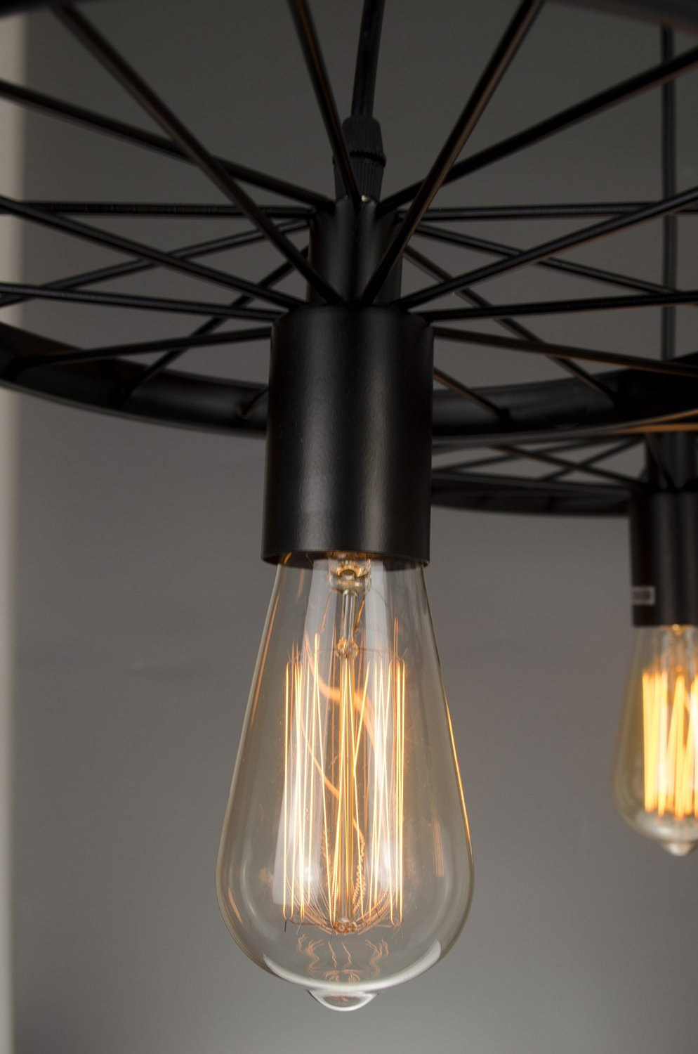 Industrial Style Pendant Light 3 Edison Bulbs Chandelier Lighting Kitchen Pen