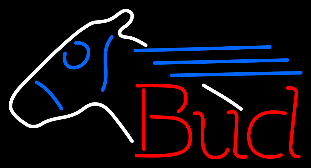 """Bud Horse Neon Sign 16"""" x 16"""" and 50 similar items"""