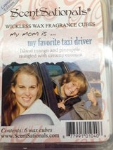 """ScentSationals VERY LIMITED EDITION - """"My Mom Is.... My Favorite Taxi Dr... - $7.87"""