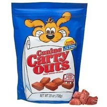 Canine Carry Outs Beef Flavor Chewy Snacks for Dogs, 25-Ounce - $14.50