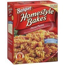Banquet, Homestyle Bakes, Pizza Pasta, 27.5oz Box (Pack of 3) - $30.34