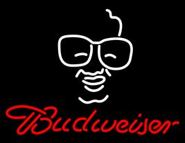 """Budweiser Man Logo Neon Sign 16"""" x 16"""" - $699.00"""