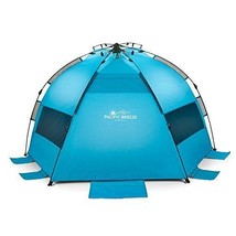 Beach Tent EasyUp Lightweight Portable Outdoor Large Sun Protection Shad... - $99.99