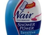 Nair Hair Remover Shower Power Sensitive 12.6 Ounce Pump (372ml) (3 Pack)