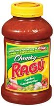 Ragu Pasta Sauce, Chunky Garden Style, Garden Combination, 45 Ounce Bott... - $45.19
