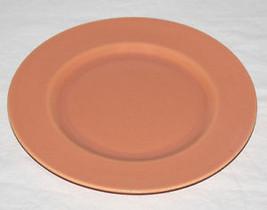 "9"" Vintage Metlox Poppytrail USA Luncheon Plate Pastel Peach Coral - $9.41"