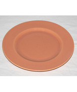 "9"" Vintage Metlox Poppytrail USA Luncheon Plate Pastel Peach Coral - $9.41"