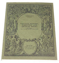 Sothebys Catalogue Natural History Scientific Medical Books 1984 Van Der... - $11.99