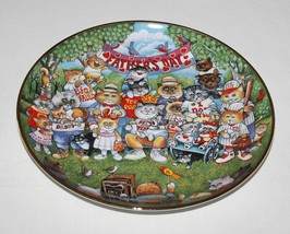 Bill Bell Purrfect Pops Fathers Day Cats Plate ... - $9.99
