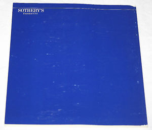 Sothebys Catalogue Printed Manuscript Americana European History 1984