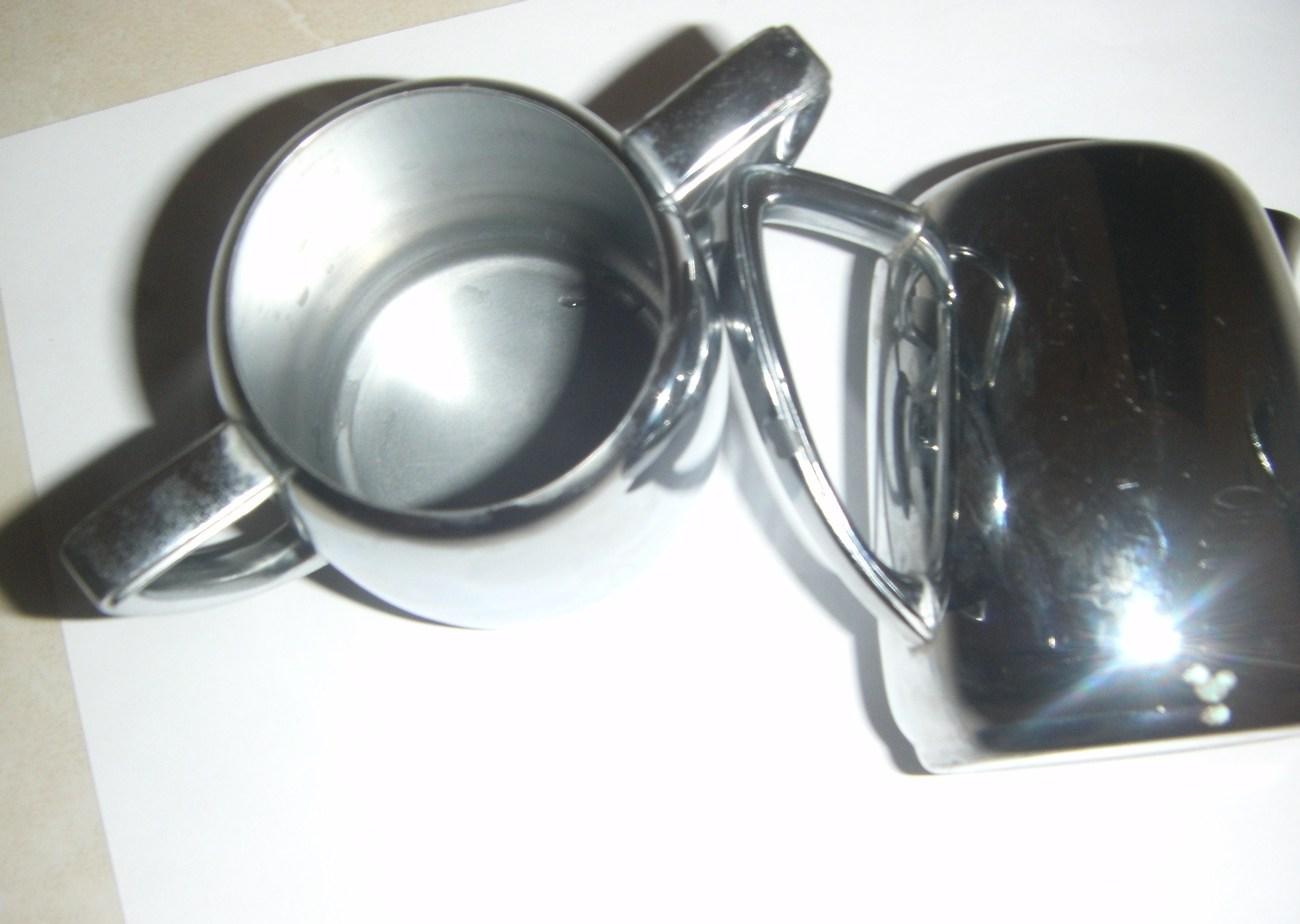 International Silver Company Universal Cream and Sugar Set No. 8905
