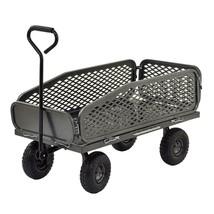 Garden Beautification Tool Heavy Duty Muscle Utility Cart Steel Mesh Ma... - $134.99