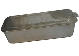 Vintage MIRRO Aluminum Loaf Pan Bread Cake with Sliding Locking Lid USA ... - $18.80