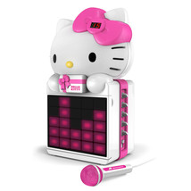 Hello Kitty CD+G Karaoke System with LED Light Show and P3,MP4+G Playback - $140.51