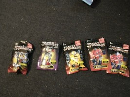 Transformers Lot of 5 x Blind Bags Collect All 6 - $12.86