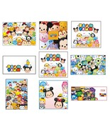 9 Tsum Tsum inspired stickers, Birthday Party Favors, labels, decals, re... - $8.99