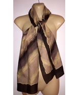 Vintage 1950s Auteuil Fabric Scarf made in Ital... - $24.95