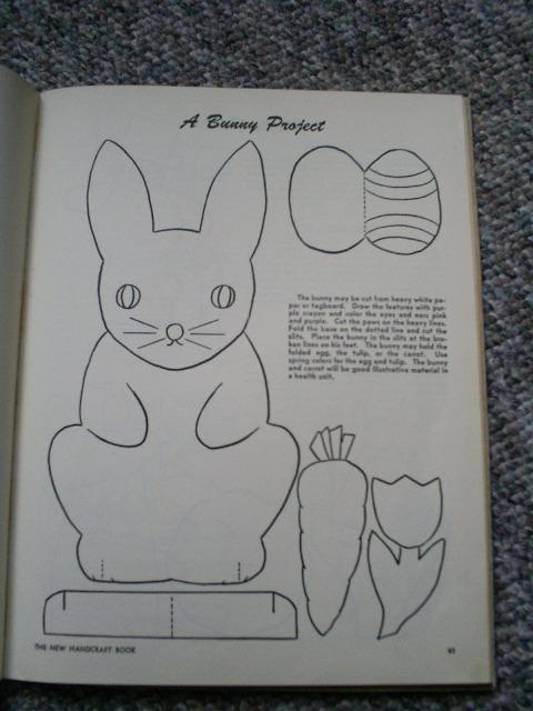 The New Handcraft Book, Vintage Hardcover, 1956, Elementary School Program