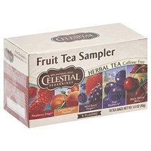 Celestial Seasonings Fruit Tea Sampler Tea Bags, 18 ct, 2 pk - $13.21