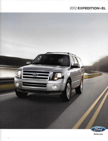 2012 Ford EXPEDITION sales brochure catalog US 12 XLT Limited King Ranch EL