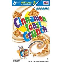 General Mills, Cinnamon Toast Crunch Cereal, 20.25oz Box (Pack of 4) - $44.24