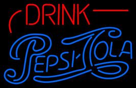 "Drink Pepsi Cola Neon Sign 20"" x 20"" - $699.00"