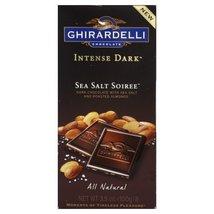 Chocolate Bar Dark Sea Salt 3.5 OZ (Pack Of 12) - $64.00