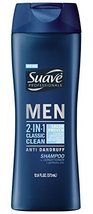 Suave Men 2in1 AntiDandruff Shampoo & Conditioner, Classic Clean, 12.6 oz - $9.69