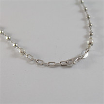 925 SILVER NECKLACE WITH 8 MM ROUND FW PEARL AND FACETED BALLS image 6