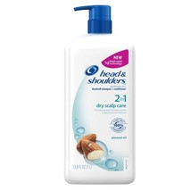 Head and Shoulders Dry Scalp Care With Almond Oil 2-In-1 Dandruff Shampo... - $28.07