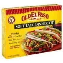 OLD EL PASO Soft Taco Dinner Kit, 12.5 oz - $14.50