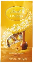 Lindt LINDOR Caramel Milk Chocolate Truffles ,5.1 Ounce by Lindor [Foods] - $10.55