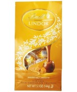 Lindt LINDOR Caramel Milk Chocolate Truffles ,5.1 Ounce by Lindor [Foods] - $200,89 MXN