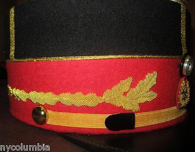 URUGUAYAN ARMY GENERAL FULL HAND EMBROIDERED KEPI HAT - REPRODUCTION
