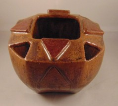 Stoneware Pottery Planter Bowl With Plant Hole'... - $16.98
