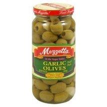Mezzetta Olive Fresh Garlic 9.5 OZ (Pack of 18) - $137.76