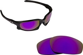 New SEEK Replacement Lenses Oakley Wind Jacket Asian Fit Polarized Purple - $18.30
