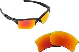 New SEEK Replacement Lenses Oakley HALF JACKET 2.0 XL Asian Fit - Red - $13.34