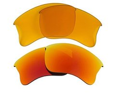 New SEEK Replacement Lenses Oakley HALF JACKET 2.0 XL - HI Yellow Red - $23.25
