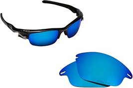 New Seek Replacement Lenses Oakley Fast Jacket Asian Fit Polarized Blue - $18.30