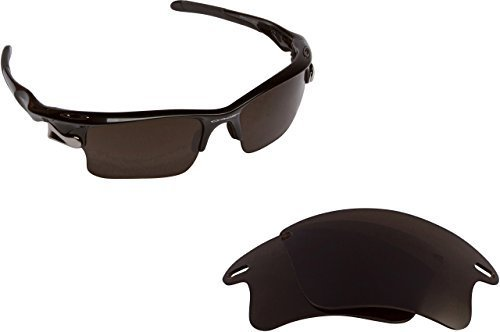 New SEEK Replacement Lenses Oakley FAST JACKET XL Asian Fit Brown ON SALE