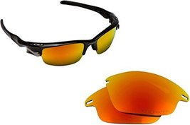 New Seek Optics Replacement Lenses Oakley Fast Jacket   Polarized Red - $18.30