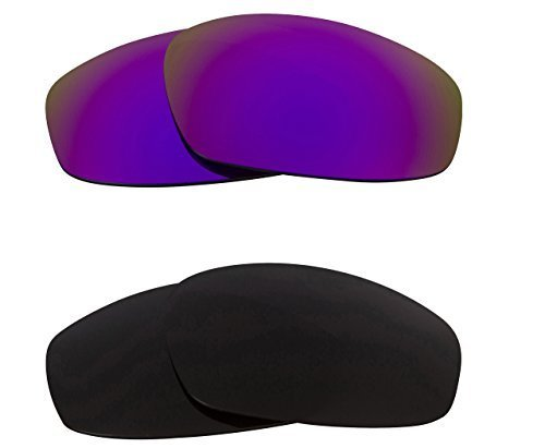 Primary image for New SEEK OPTICS Replacement Lenses Oakley WIND JACKET - Black Purple